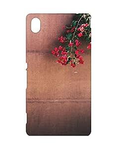 Mobifry Back case cover for Sony Xperia M4 Aqua Mobile ( Printed design)