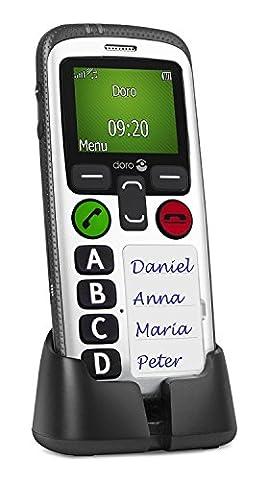 Doro Secure 580 - Téléphone portable (128 x 160 pixels,