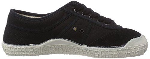 Kawasaki Rainbow Basic, Sneakers basses mixte adulte Noir - Schwarz (Black/wht sole / 60)