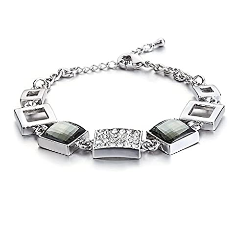 Swarovski Elements Schwarzer Diamant