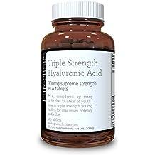 Ácido Hialurónico 300mg x 180 tabletas (3 meses de suministro). Triple Fuerza ácido