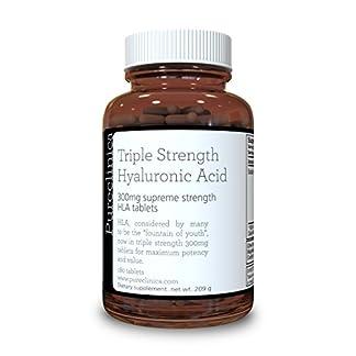 Ácido Hialurónico 300mg x 180 comprimidos (suministro de 3-6 meses). Ácido Hialurónico Triple Potencia. 300% más potente que cualquier otro comprimido de AHL