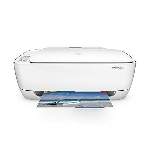 HP Deskjet 3630 (K4T99B) All-in-One Multifunktionsdrucker (A4, Drucker, Scanner, Kopierer, Wlan, HP ePrint, Apple AirPrint, HP Instant Ink kompatibel, USB, 4800 x 1200 dpi) weiß
