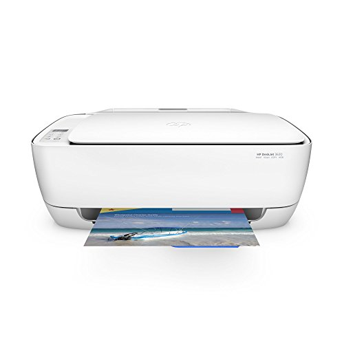 HP Deskjet 3630 (K4T99B) All-in-One Multifunktionsdrucker (A4, Drucker, Scanner, Kopierer, Wlan, HP ePrint, Apple AirPrint, HP Instant Ink kompatibel, USB, 4800 x 1200 dpi) weiß