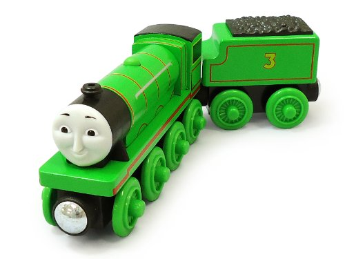 Image of Thomas & Friends Wooden Railway Henry Engine