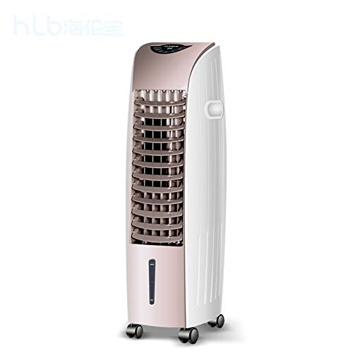 Portable Still Klimageräte, Evaporative Mobiles Klimagerät Reinigen Luftbefeuchter Luftkühler Doppelturbine Anion Lüfter-manuell 75x24cm(30x9inch) -