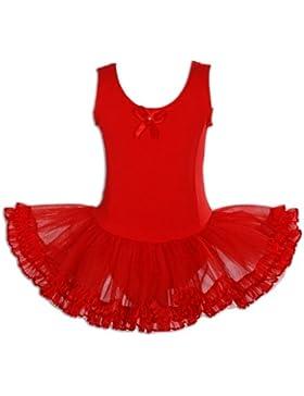 Cinda Rosa Tutu / balletto / Dance Vestido