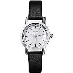 Student recreation retro watch/ fashion strap watch/Simple quartz watch-F