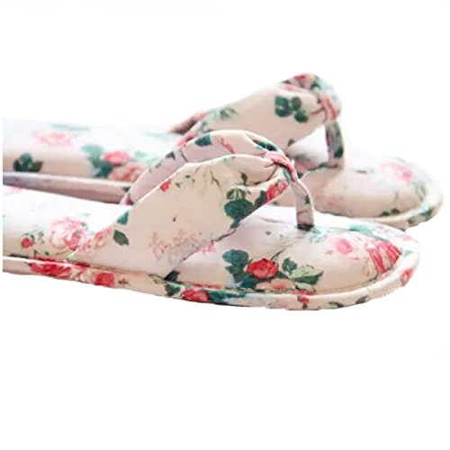 Scarpe Estive TINWEI Sandali Floreali Di Stile Pastorale Pink