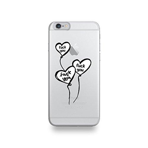 Galleria fotografica Destination telecom Coque Apple iPhone 6/6S Silicone motif Ballons Fuck You