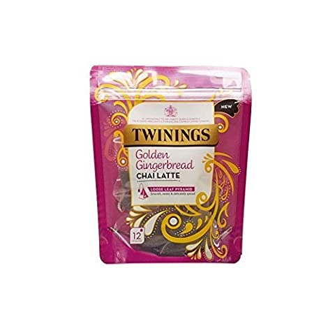 Twinings Golden Gingerbread Chai Latte 30g - 12 Pyramids by Twinings