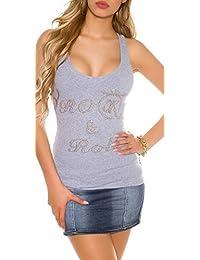 Suchergebnis auf Amazon.de für  glitzer shirt damen - KouCla   Damen ... 5317654f85