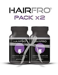HairFro® - 1er Accélérateur de Pousse pour Cheveux Frisés, Crépus et Secs (Pack x2) - 200 Capsules