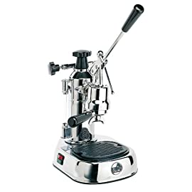 La Pavoni Europiccola Lever Espresso Machine, Black Base