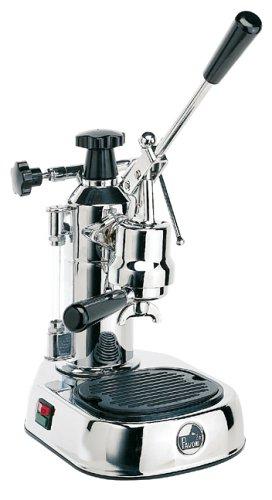 La Pavoni Europiccola Lever Espresso Machine, Black Base