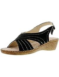 Suchergebnis auf für: leder keil sandalette 40
