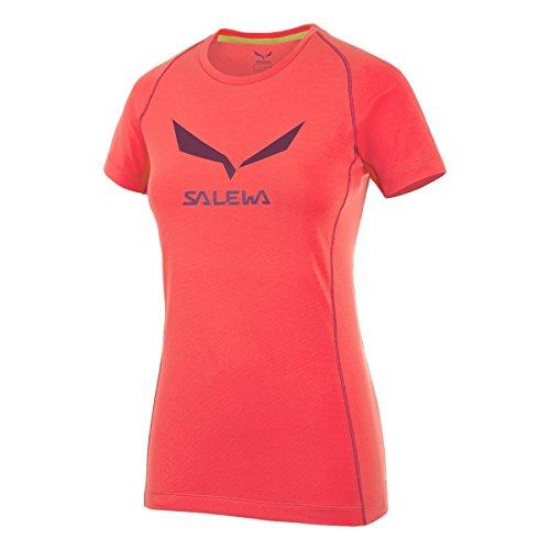 Salewa T-Shirt descalade Femme Lima (Limelight)