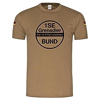 Copytec 1SE Grenadier Panzergrenadier PzGren Einheit Bundeswehr -Bw Tropen original nach TL (Herren XXXL, Khaki)