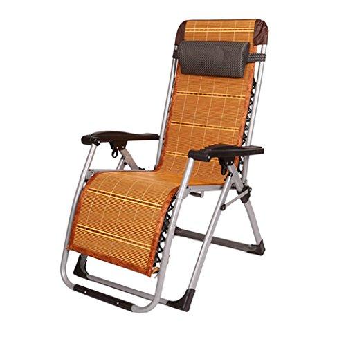 Zcxbhd Schaukeln Stühle Falten Sommer Mittagessen Büro Armlehne Stuhl Nickerchen Zum Schwangere Frau Strand/Alten/Garten/Draussen/200 Kg (Farbe : A)