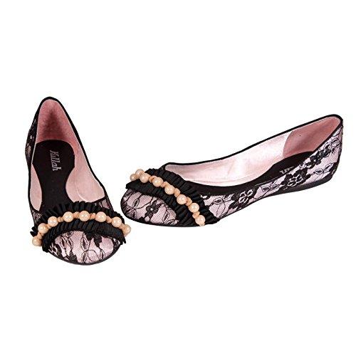 Scarpa donna KILLAH Ballarinas ALPHONSINE nero - rosa Rosa