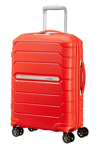 SAMSONITE Flux - Spinner 55/20 Expandable Equipaje de mano, 55 cm, 44 liters, Naranja (Tangerine Red)