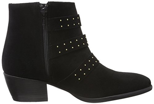 06cf6541eeb3 ... Mentor Damen Ankle Boot Kurzschaft Stiefel Schwarz (Black)