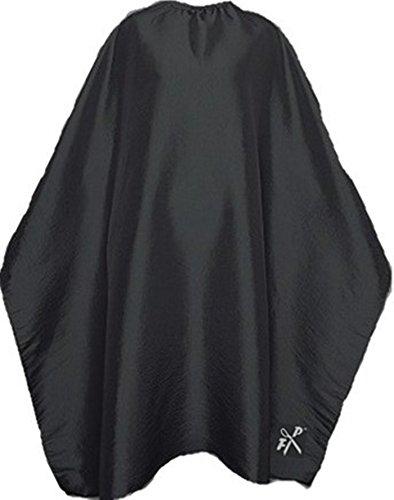Friseurumhang FP SALON m. Hakenverschluss, stufenlos einstellbar - Farbe nach Wahl (schwarz)
