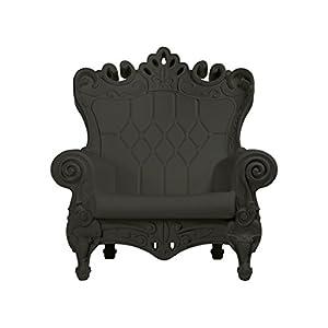 SLIDE – Design of Love Little Queen of Love Baby armchair Elephant Grey