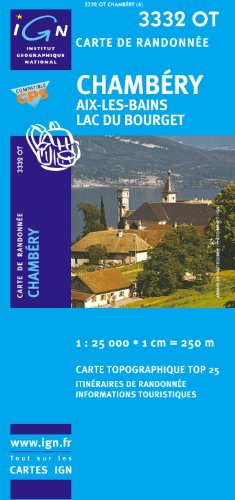 Chambery/Aix-les-Bains/Lac du Bourget GPS: IGN.3332OT