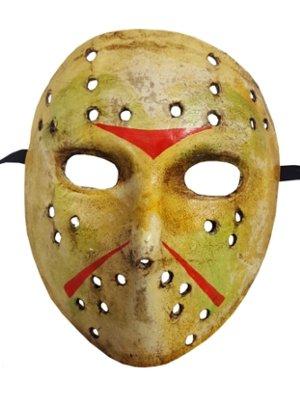 Herren handgefertigt Jason Freitag der 13. Halloween Scary Venezianische (Maske Designs Pappmaché)