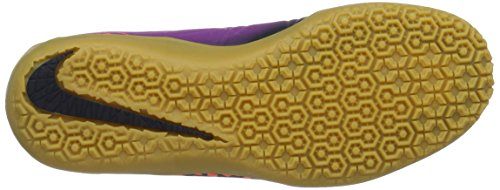 Nike 749920-845, Scarpe da Calcetto Unisex – Adulto Multicolore (Total Crimson/obsidian-vivid Purple)