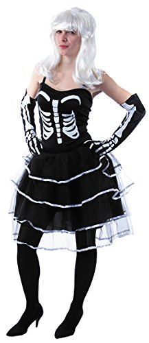 Kostüm Prinzessin Skelett, Größe 38 (Prinzessin Skelett)