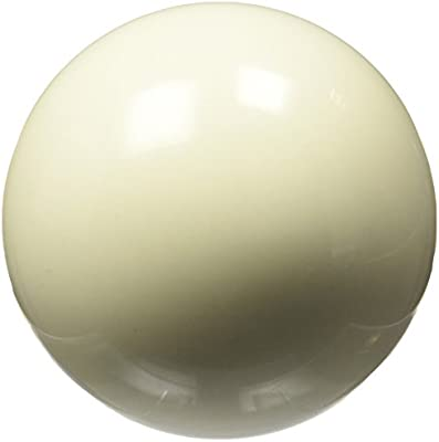 Gamesson 2058865 - Bola de billar, 57 mm, color blanco