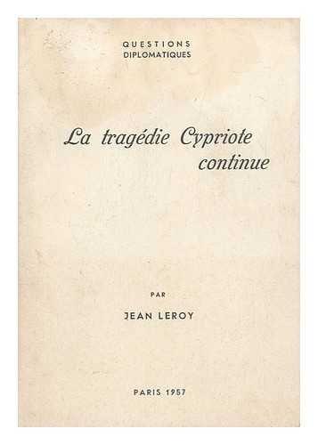La Tragedie Cypriote Continue