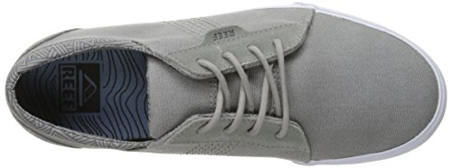 Reef Ridge Cuir Baskets Gris