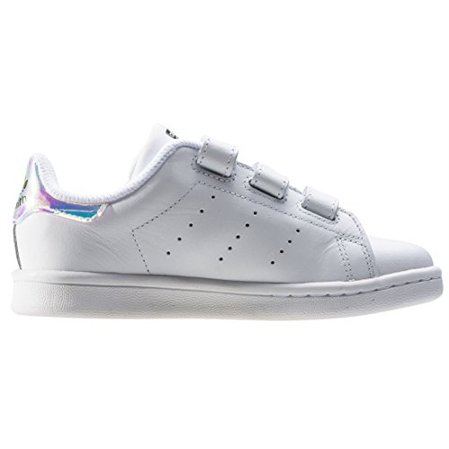 Adidas Stan Smith CF C, metallic silver-sld/metallic silver-sld/frozen yellow White Silver