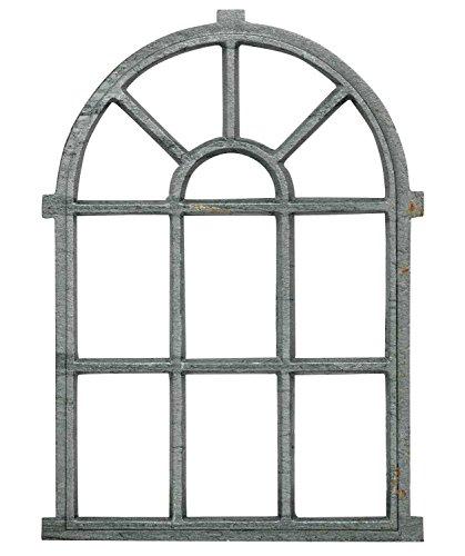 Eisenfenster rechteckig 75 x 47 cm Sprossenfenster in Antik Optik ca Antikas