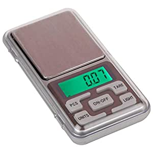 Generic Digital Pocket Scale 0.01G To 200G For Kitchen Jewellery Weighing - Black