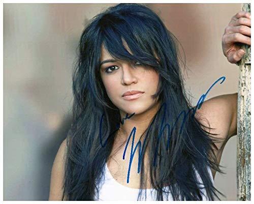 FM Michelle Rodriguez Signiert Autogramme 21cm x 29.7cm Plakat Foto (Rodriguez-foto Michelle)