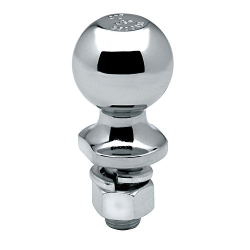 Preisvergleich Produktbild Reese 63820 Tow Ready Chrome Hitch Ball - 2 x 3/4 x 1-1/2, 3,500 lbs. by Tow Ready