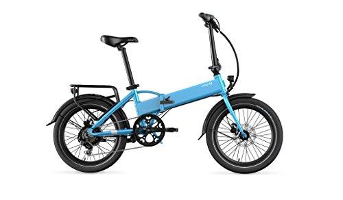 Legend eBikes Monza 36V14Ah Bicicleta Eléctrica Plegable, 25 Km/h, Unisex Adulto, Steel Blue, Talla Única