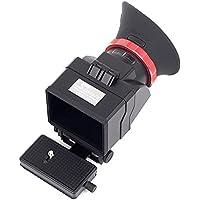 """swivi S6Visor con pantalla LCD de 3""""/3.2"""" para Canon 5D3Nikon D7200D750D810"""