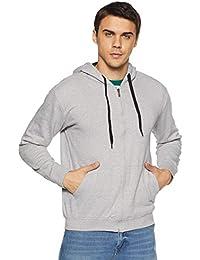 Cloth Theory Men's Sweatshirt (B01LWCPIDX-A_Grey Melange_M)
