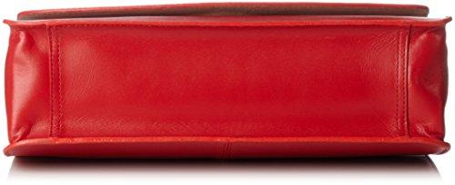 Vagabond - Valencia, Borse a spalla Donna Rosso (Red)