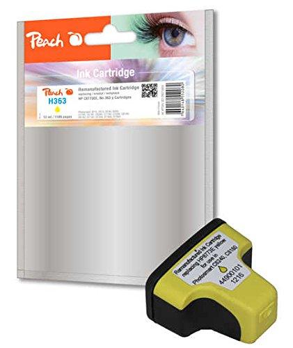 Preisvergleich Produktbild Peach Tintenpatrone gelb kompatibel zu HP No. 363, C8773EE