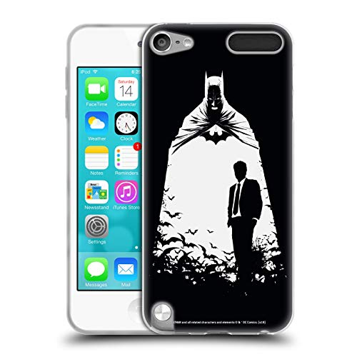 Head Case Designs Offizielle Batman DC Comics Alter Ego Bats Dualitaet Soft Gel Huelle kompatibel mit Apple iPod Touch 5G 5th Gen