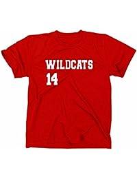 HSM 1/2/3 Wildcats 14 Herren Men's T-Shirt, Fanshirt