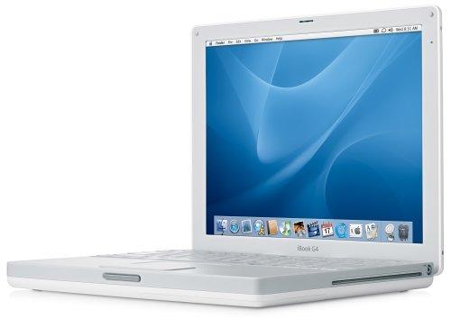 Apple iBook G4 30,7 cm (12,1 Zoll) Notebook (1,33 GHz, 512 MB RAM, 40 GB HDD, DVD/CD-RW-Combo) (Mac Ram G4)
