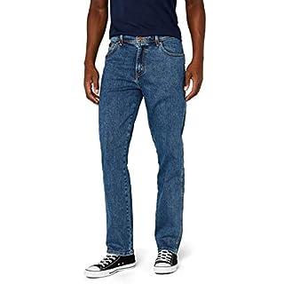Wrangler Men's TEXAS - CONTRASTS Straight Fit Jeans, Blue (Stonewash 010),34W / 32L