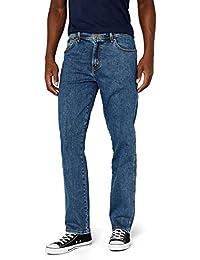 Wrangler Men's Texas-Contrasts Straight Jeans